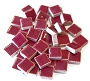 3/8 Ceramic Tile 1lb -Burgandy
