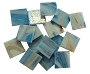 Gold Veined 1lb BULK - Medium Blue